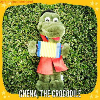 Ghena The Crocodile - The Plush Brotherhood